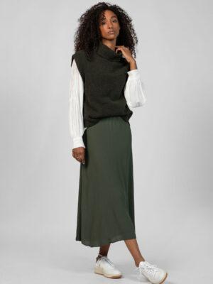 alchemist vest idoya en blouse nori dried thyme
