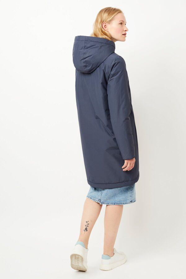 langerchen coat Ariza steel blue