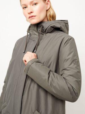 Langerchen coat Milport padded platinum