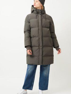 langerchen coat Aike platinum