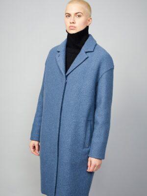 LangerChen coat Tarree Kobalt